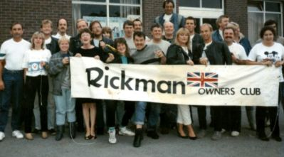 Rickman owners on tour